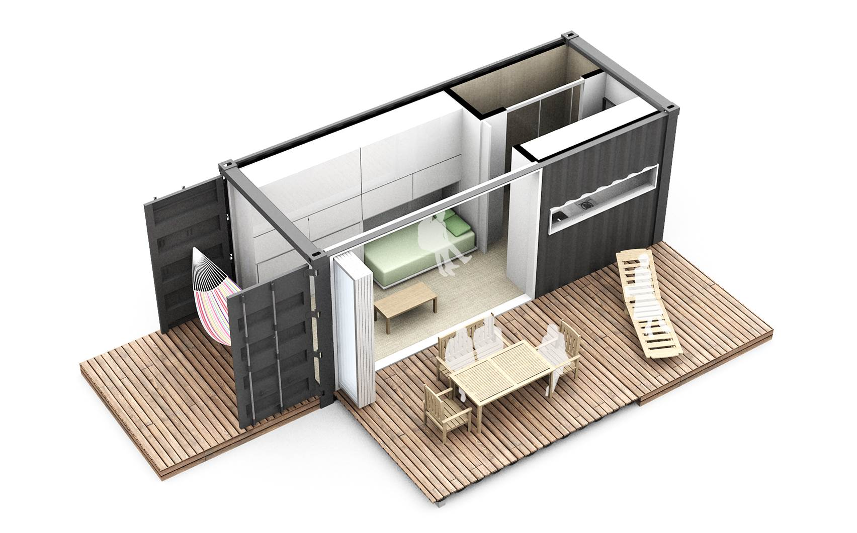 Container House Example
