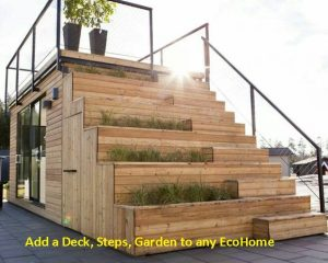 20 Foot with Steps and Garden D