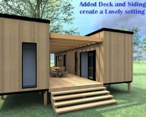 Core Wood Siding Upper right side