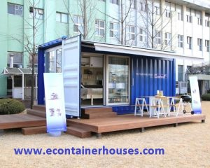 EcoHomes 20ft Demo Blue